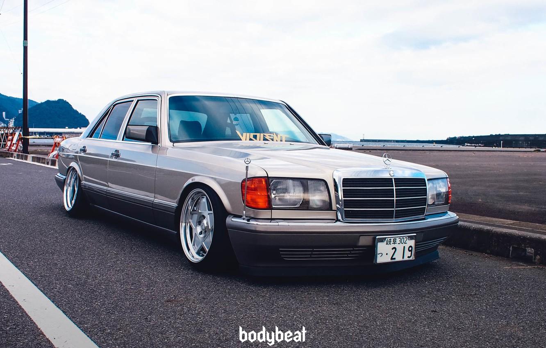 Mercedes W126 Stance