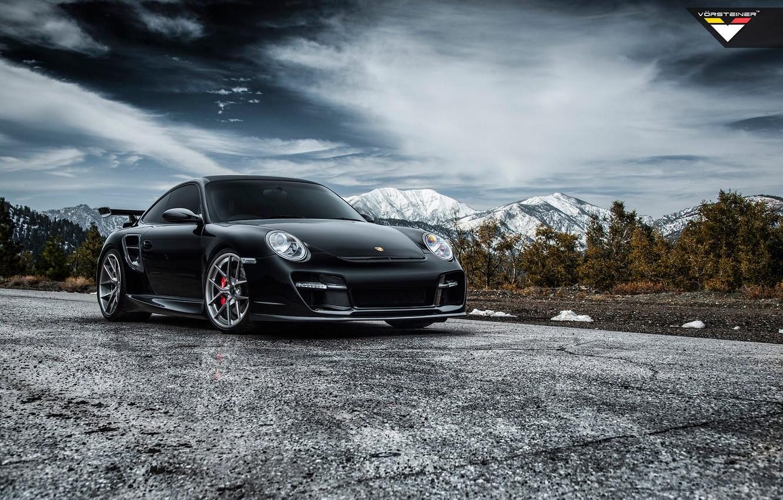 Photo wallpaper car, tuning, 997, Porsche, tuning, vorsteiner, porsche 911