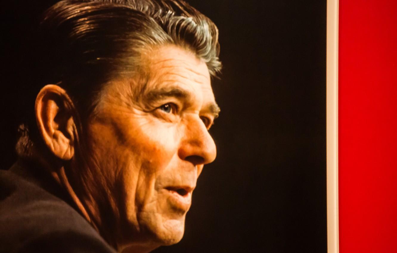 Wallpaper Face Actor President Ronald Reagan Ronald