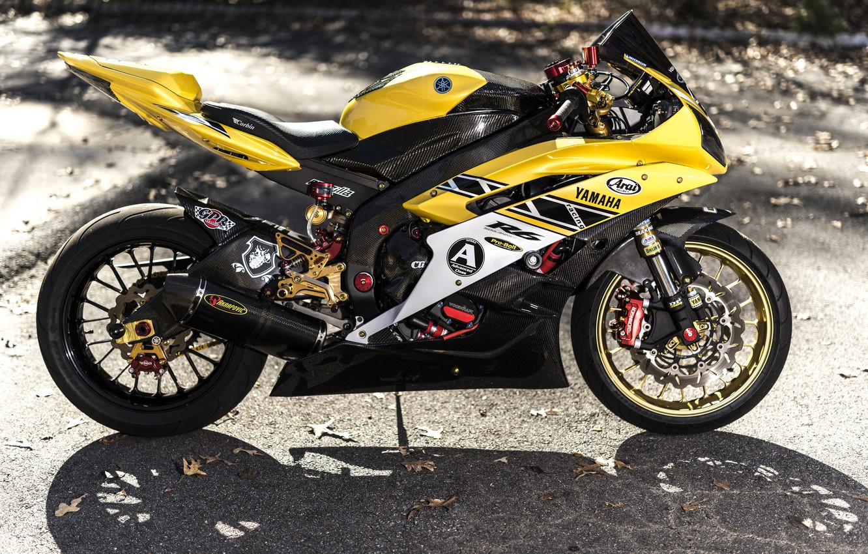 Photo wallpaper design, background, motorcycle, Yamaha, sportbike