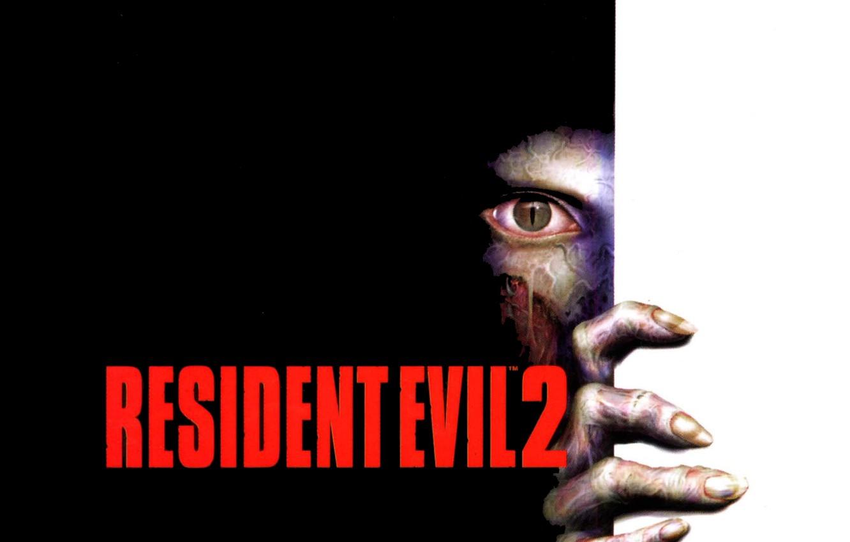 Photo wallpaper eyes, zombies, resident evil, resident evil, resident evil 2, resident evil 2