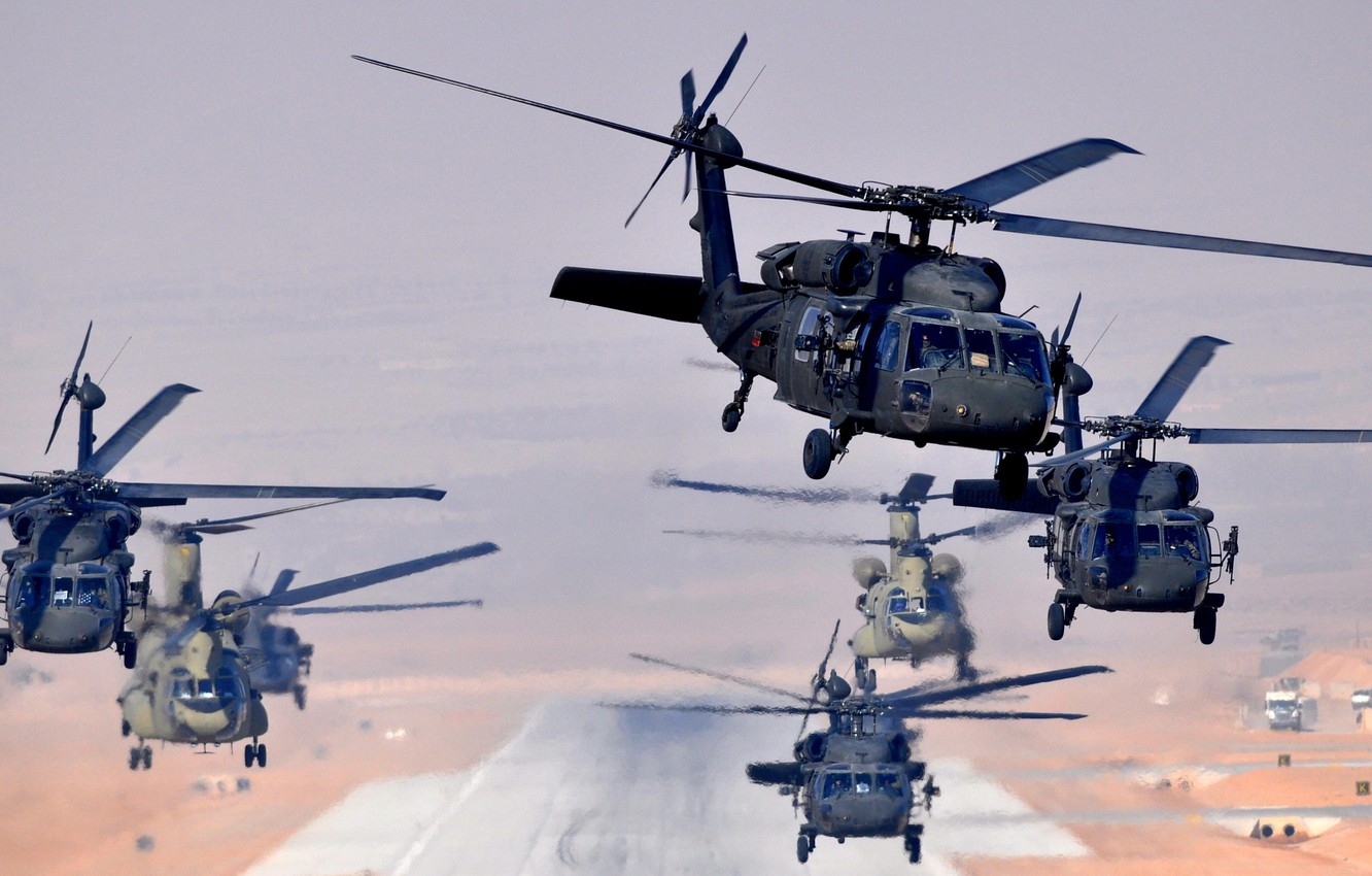 Wallpaper Uh 60 Helicopters Ch 47 Blackhawk Images For Desktop