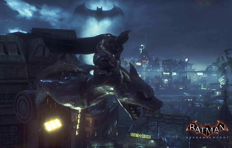 Wallpaper The Dark Knight Batman Gotham City Batman