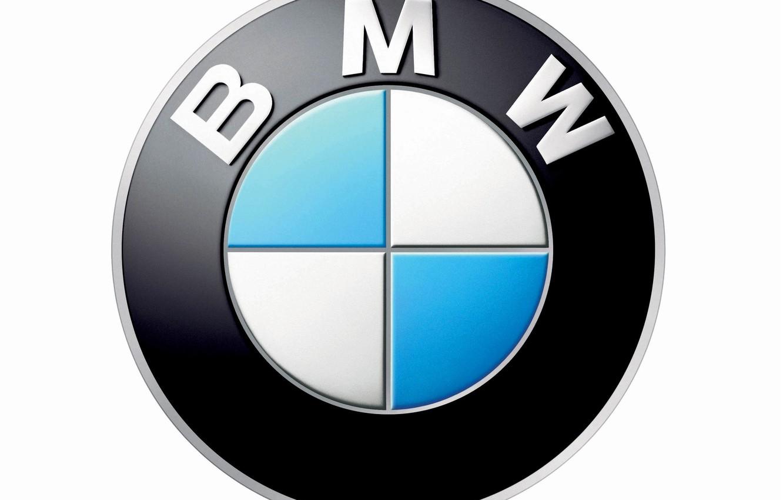Photo wallpaper Wallpaper, logo, emblem, propeller, sector, Bayerische Motoren Werke