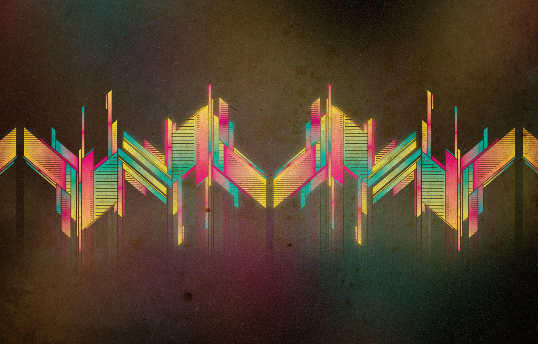 Photo wallpaper graphics, color, vector, texture