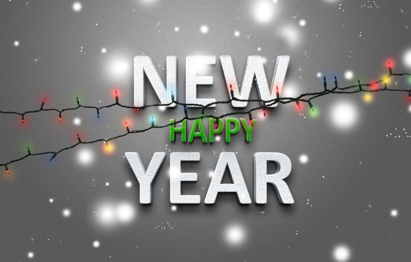 Photo wallpaper lights, holiday, new year, new year, 2013