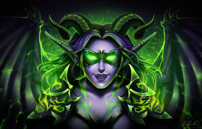 Wallpaper Legion Demon Hunter Demon Hunter The Demon Wow