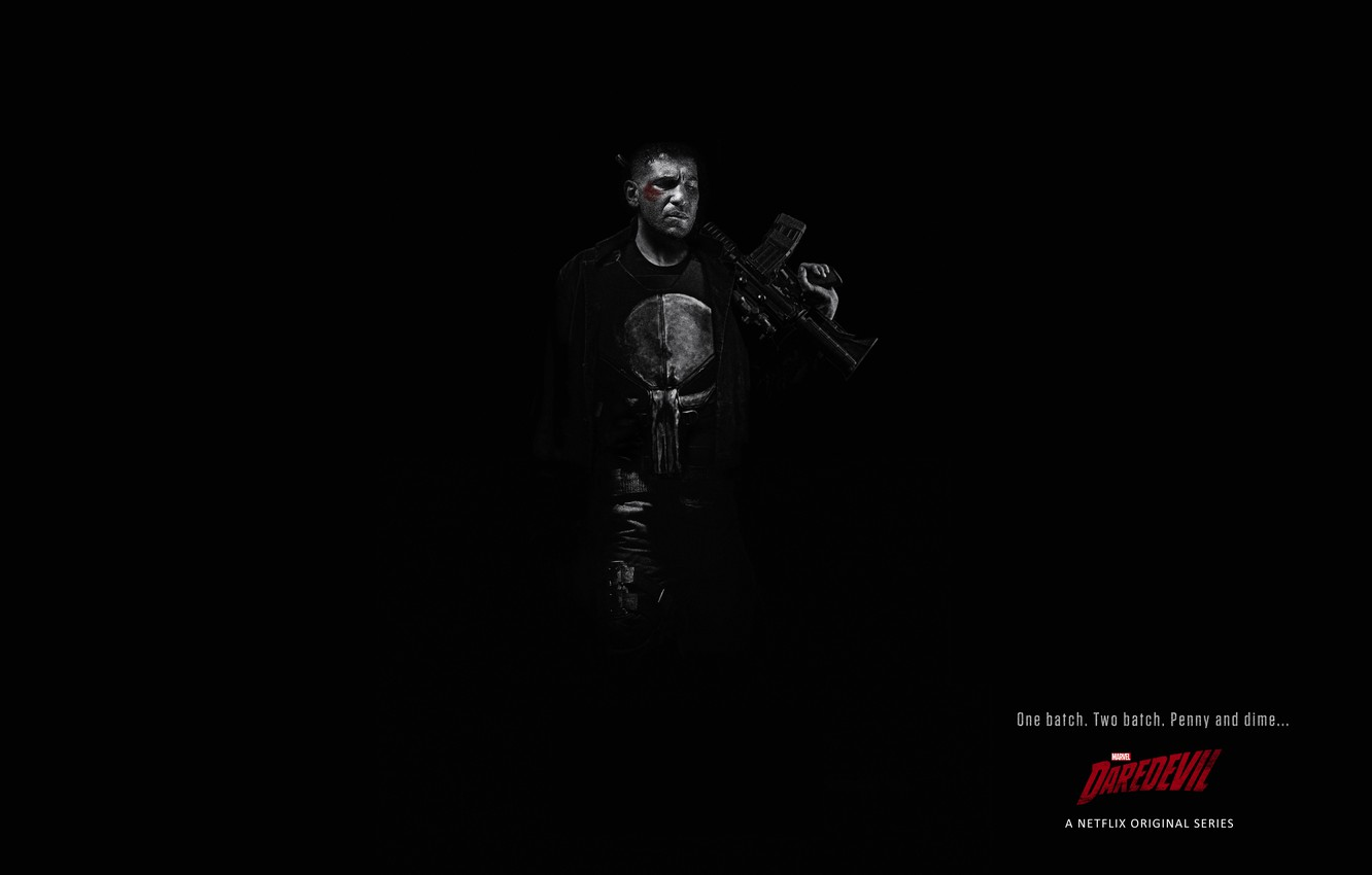 Wallpaper The Series Marvel The Punisher Daredevil
