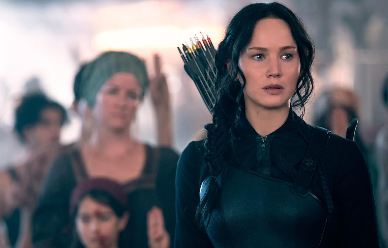 Photo wallpaper Jennifer Lawrence, Katniss, The Hunger Games:Mockingjay, The hunger games:mockingjay