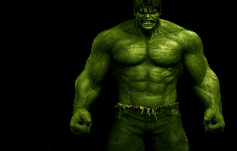 Photo wallpaper anger, green, evil, The Incredible Hulk, The Incredible Hulk