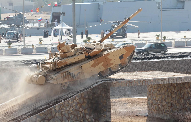 Photo wallpaper tank, Russia, armor, military equipment, tank, T-90 MS, UVZ