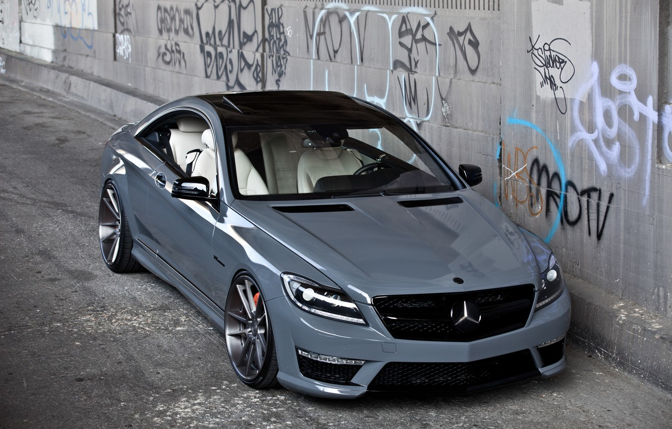 Photo wallpaper tuning, Mercedes, CL63 AMG