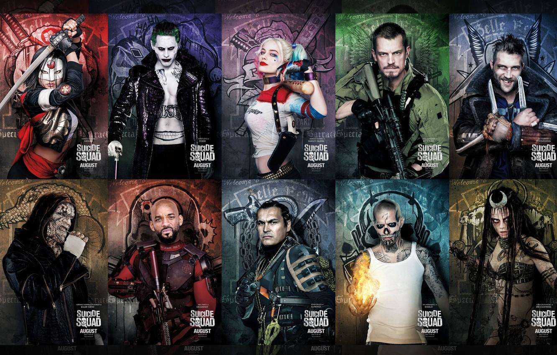 Wallpaper Slipknot Joker Will Smith Jared Leto Movie Katana
