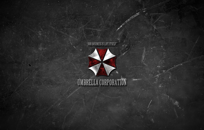 Wallpaper Minimalism Texture Umbrella Logo Resident Evil