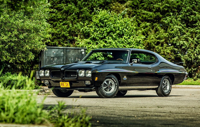 Photo wallpaper coupe, Coupe, Pontiac, GTO, 1970, Pontiac, Hardtop