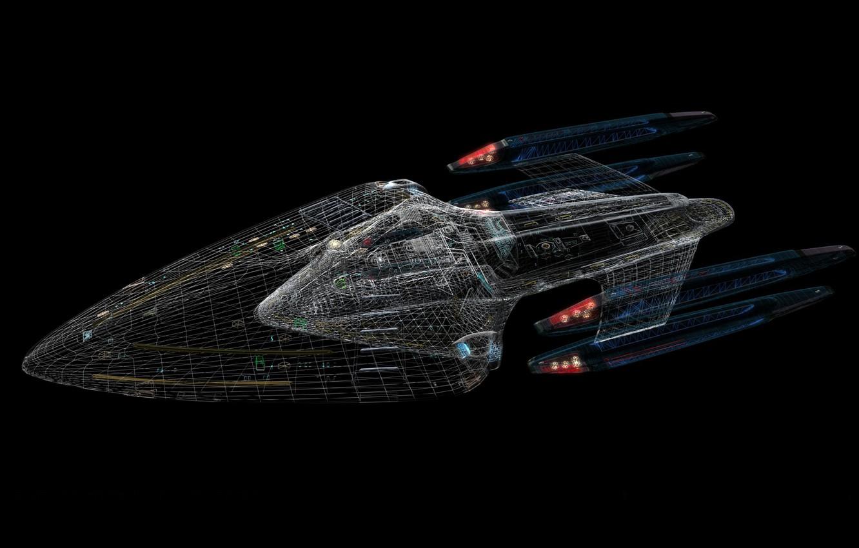 Photo wallpaper Star Trek, Autocad, The Enterprise
