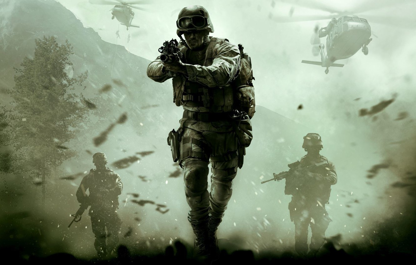 Photo wallpaper Call of Duty, CoD, Modern Warfare, Activision, Infinity Ward, Raven Software, Remastered, Call of Duty: …