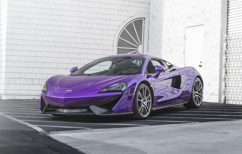Photo wallpaper car, McLaren, super, 570s
