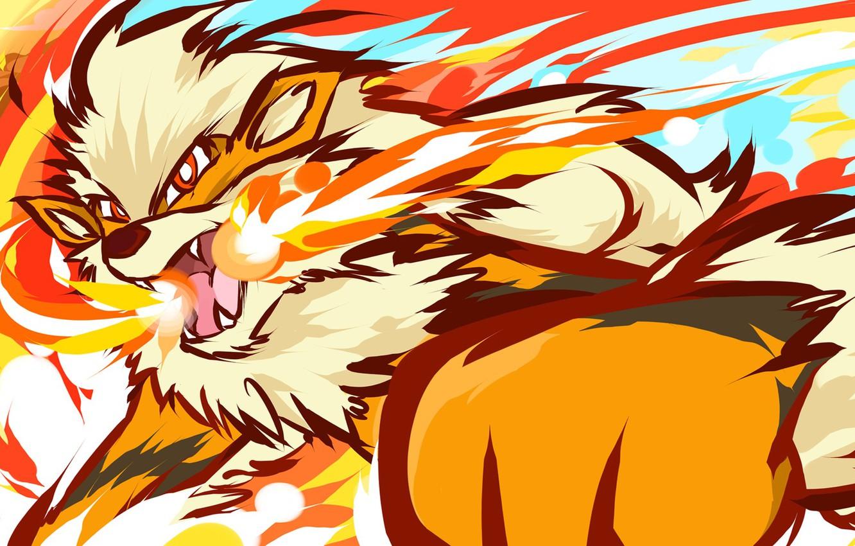 Wallpaper Fire Pokemon Arcanine Images For Desktop Section Prochee Download