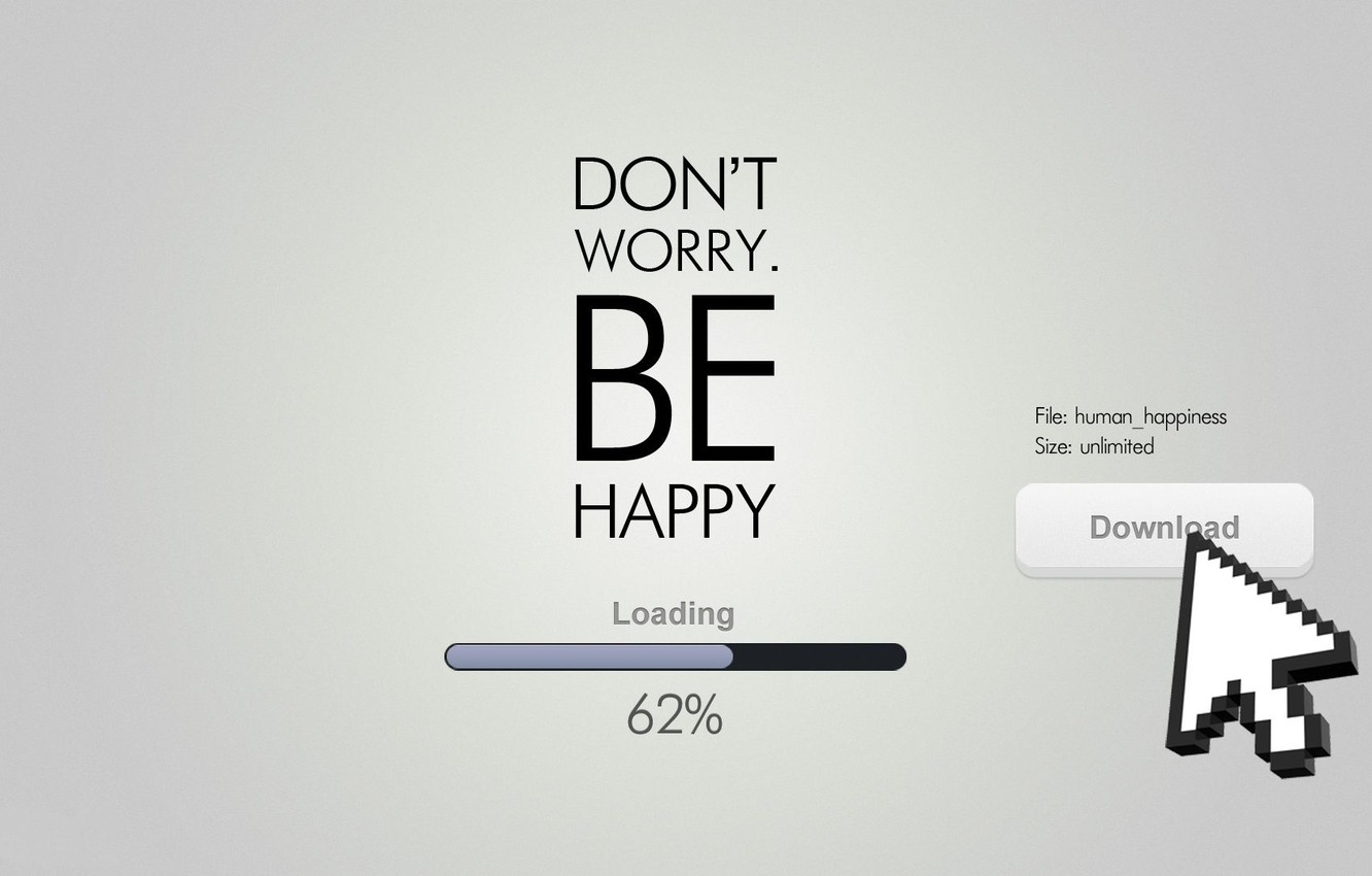 Photo wallpaper text, the inscription, the cursor, loading, download, 62%