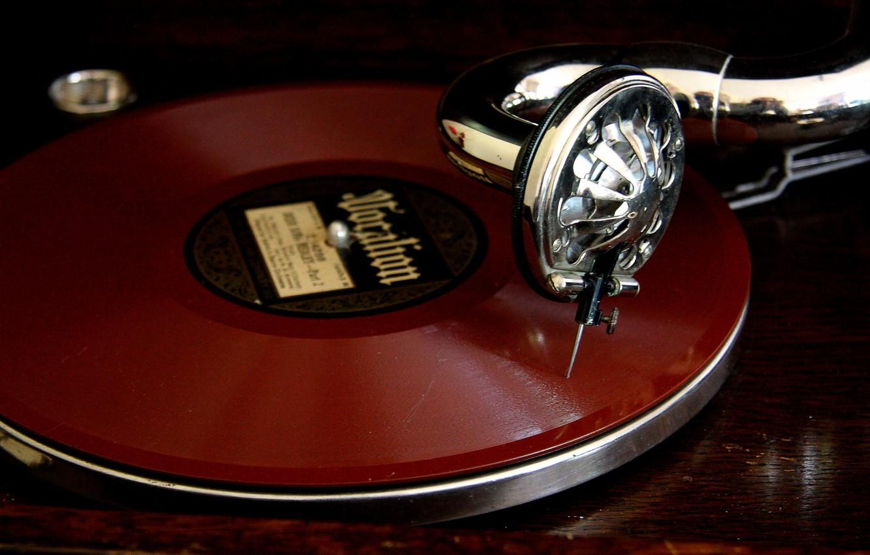 Photo wallpaper music, vinyl, gramophone