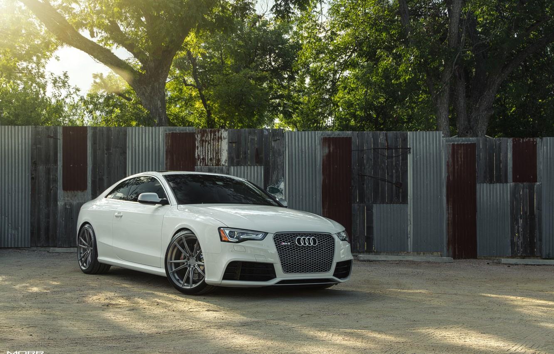 Photo wallpaper Audi, RS5, Wheels, Morr, VS54