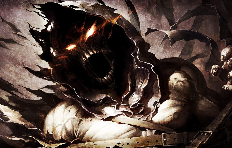 Photo wallpaper demon, hard, evil, Disturbed, music