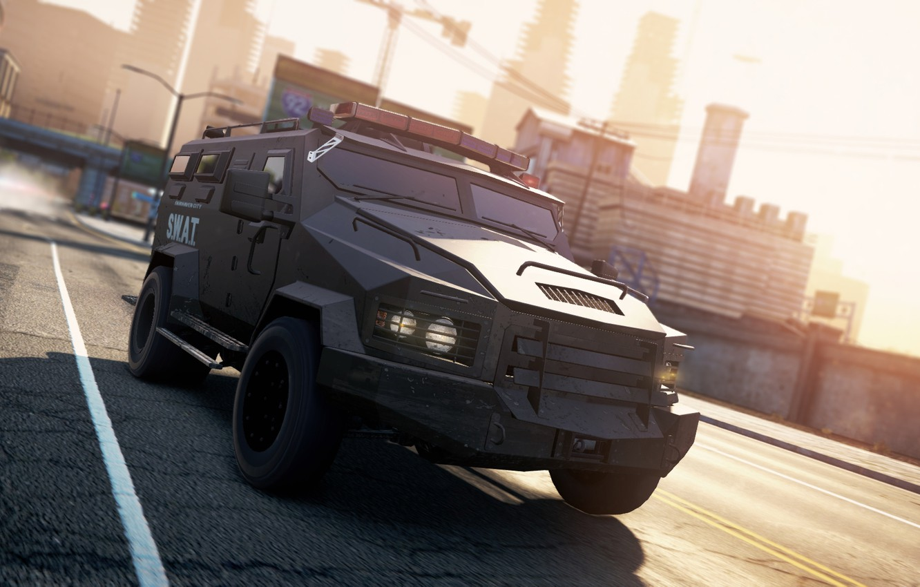Photo wallpaper 2012, Need for Speed, nfs, SWAT, Truck, Most Wanted, NSF, NFSMW
