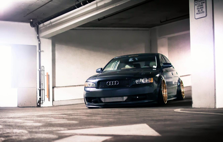 Photo wallpaper Audi, Audi, tuning