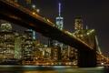 Picture Manhattan, Brooklyn bridge, New York