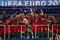 Picture Champions Of Europe, the celebration, victory, sport, team, France, Portugal, legend, Cup, back, player, player, ...