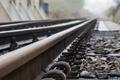 Picture railroad track, metal, track
