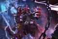 Picture Dark Lightning lord, art, Thunder bringer, Heroes of Newerth, hon