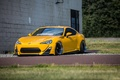 Picture scion, yellow, fr-s