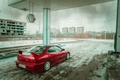 Picture red, honda, ekaterinburg, vtec, the ruins, integra, cars, photography, dressing, car, horor, tuning, EKB, worn9, ...