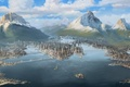 Picture water, The legend of Korra, Republic City, Republic city, water, Avatar, Avatar, The Legend of ...