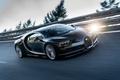 Picture movement, speed, track, Bugatti, driver, 2016, Chiron