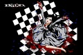 Picture darkness, madness, Blood+, chess Board, diva, blood spatter, a pool of blood, Hayashi Nomura art, ...