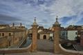 Picture bridge, home, gate, Italy, channel, Emilia-Romagna, Comacchio, Comacchio