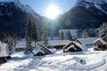 Picture Washington, winter, USA, Holden Village