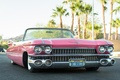 Picture retro, Cadillac Convertible, 1959, convertible, the front