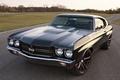 Picture Chevelle, 1970, road, Muscle car, black, the front, classic, Concept 2011, Performance, Sevil, Dale Earnhardt ...