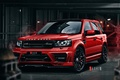 Picture Red, Front, Land, Rover, Freelander, Jeep, Ligth