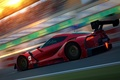 Picture in motion, car, Toyota FT-1, render, Concept, Toyota