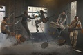 Picture rock band, levitation, Gorod 312