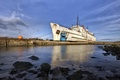Picture sea, ship, pier