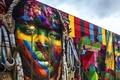 Picture Ethnic Groups, Eduardo Kobra, street art, Rio de Janeiro, wall, graffiti, Brazil