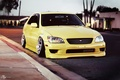 Picture Toyota, Height, yellow, stance