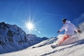 Picture the sun, snow, mountains, Snowboard, snowboard, adrenaline, kantivka, gopro