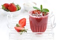 Picture strawberry, cocktail, drink, smoothie, cocktail, strawberry